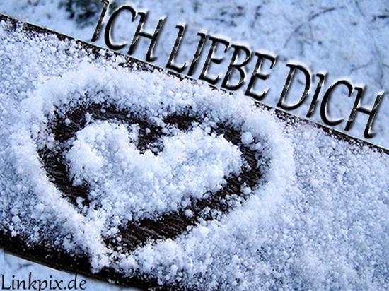 ICH LIEBE DICH winter