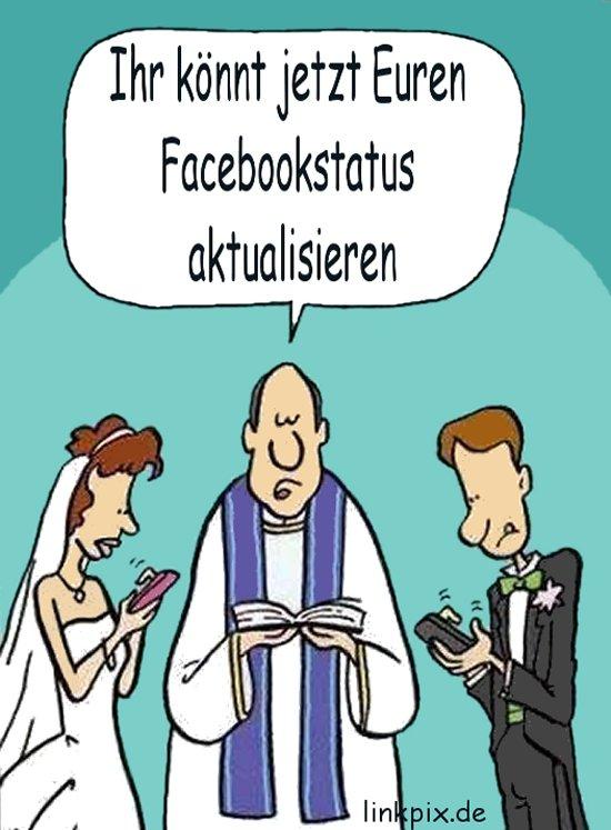 Witziges facebook status