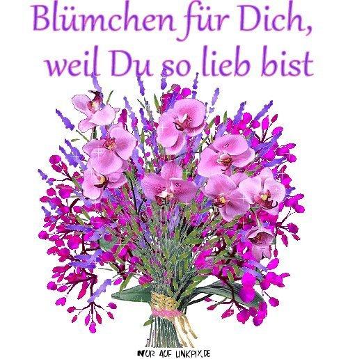 bild Blumen für dich