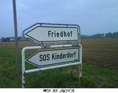 SOS Kinderdorf = Friedhof